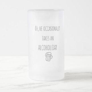 Literary Quote Funny Beer Mug