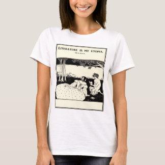 Literature is My Utopia T-shirt