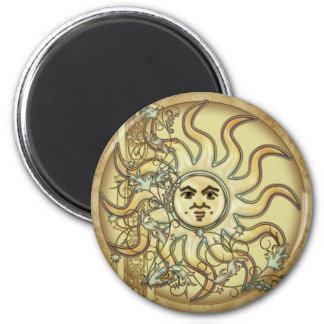Litha Sun Celtic Style Design Magnets