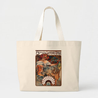 Lithograph Biscuits Lefèvre-Utile Tote Bags