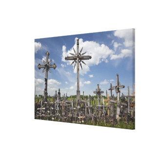 Lithuania, Central Lithuania, Siauliai, Hill 2 Stretched Canvas Print