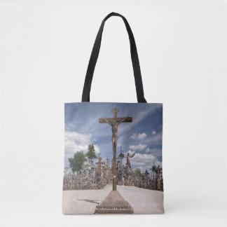 Lithuania, Central Lithuania, Siauliai, Hill 6 Tote Bag