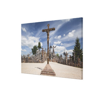 Lithuania, Central Lithuania, Siauliai, Hill Stretched Canvas Print