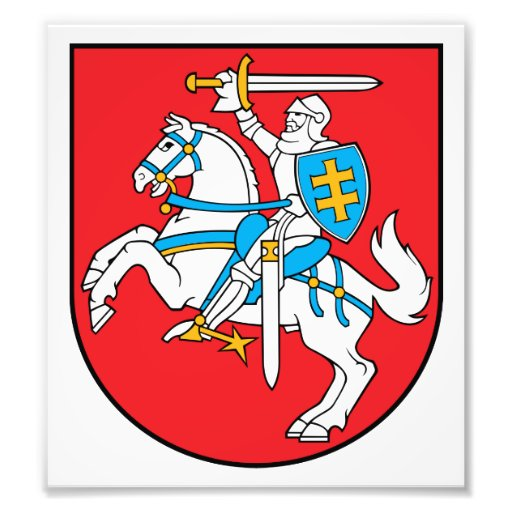 Lithuania Coat Of Arms Photo Art