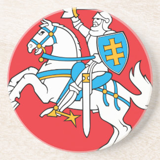 Lithuania Emblem - Coat of arms - Lietuvos Herbas Coaster