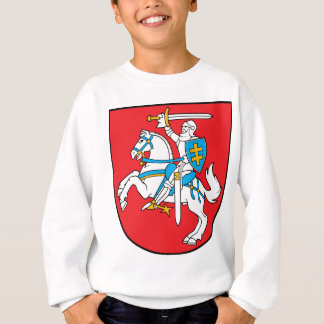 Lithuania Emblem - Coat of arms - Lietuvos Herbas Sweatshirt