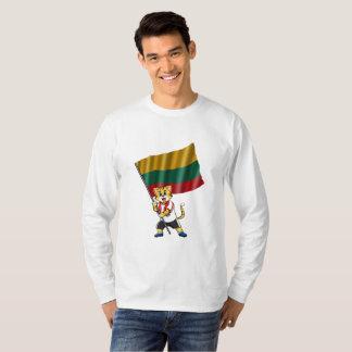 Lithuania fan cat T-Shirt