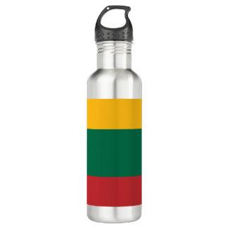 Lithuania Flag 710 Ml Water Bottle
