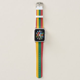 Lithuania Flag Apple Watch Band