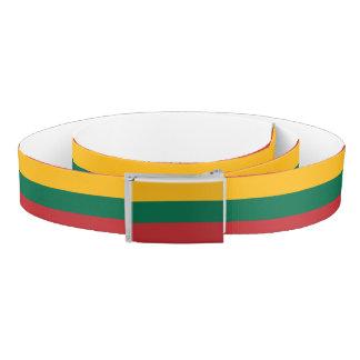 Lithuania Flag Belt