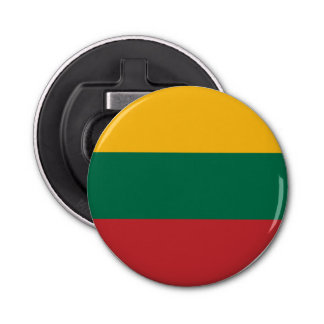 Lithuania Flag Bottle Opener