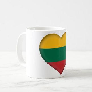 Lithuania Flag Coffee Mug