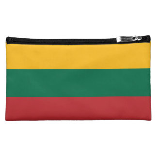 Lithuania Flag Cosmetic Bag