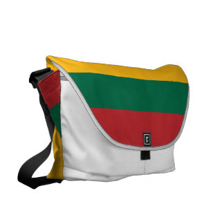 Lithuania Flag Courier Bag