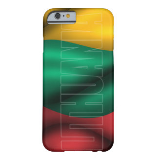 Lithuania Flag iPhone 6 Case Barely There iPhone 6 Case