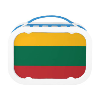 Lithuania Flag Lunch Box