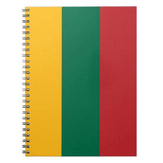Lithuania Flag Notebook