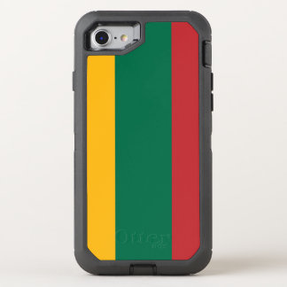 Lithuania Flag OtterBox Defender iPhone 8/7 Case