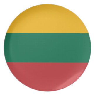 Lithuania Flag Plate