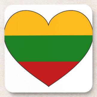Lithuania Flag Simple Coaster