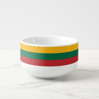Lithuania Flag Soup Mug