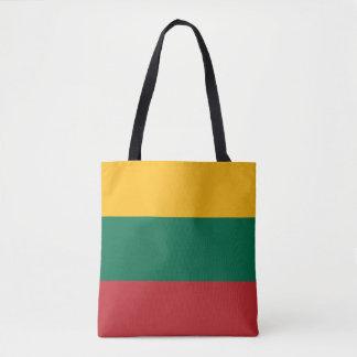 Lithuania Flag Tote Bag