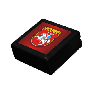 Lithuania (Lietuva) Coat of Arms Gift Box