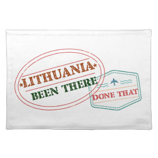 LITHUANIA PLACEMAT