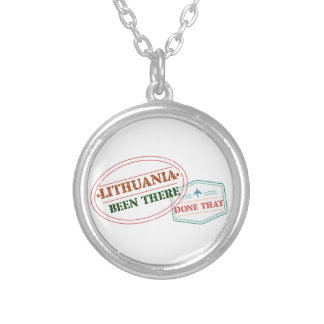 LITHUANIA SILVER PLATED NECKLACE
