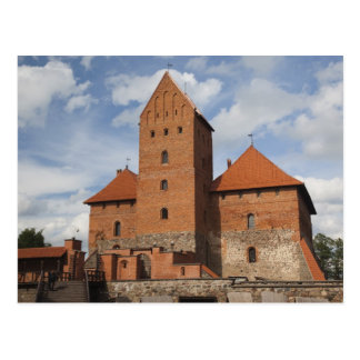 Lithuania, Trakai, Trakai Historical National 3 Postcard
