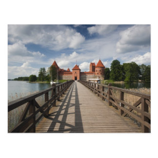 Lithuania, Trakai, Trakai Historical National Postcard