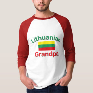 Lithuanian Grandpa T-Shirt