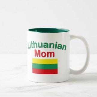 Lithuanian Mom Two-Tone Coffee Mug