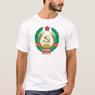 Lithuanian SSR Coat Of Arms T-Shirt