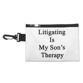 Litigating Is My Son's Therapy Accessory Bag