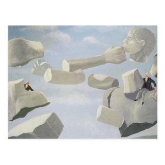Litigation Anger Postcard