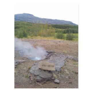Litli Geysir, Haukadalur, Iceland Postcard
