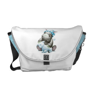 Litte G the Baby Rhino and Lamb Diaper Bag Courier Bags