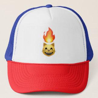 Litten(lit kitten) trucker hat