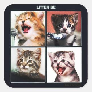 """Litter Be"" sticker by SwansonWork"