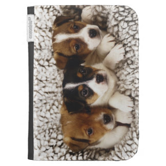 Litter of puppies kindle case