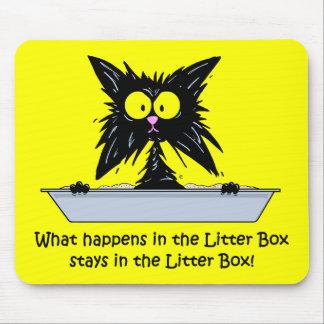 Litterbox Cat Mouse Mat