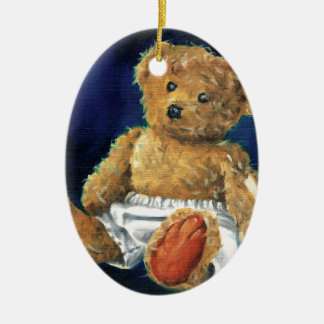 Little Acorn, a Favourite Teddy Ceramic Ornament