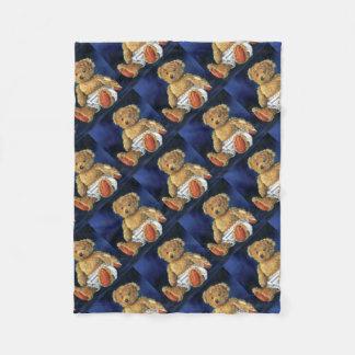 Little Acorn, a Favourite Teddy Fleece Blanket