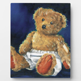 Little Acorn, a Favourite Teddy Plaque