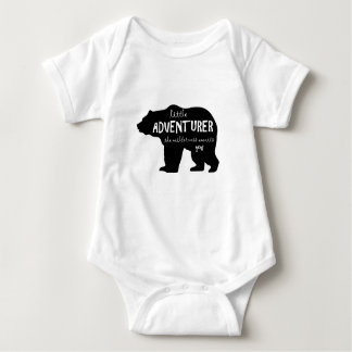 Little Adventurer Rustic Baby Bodysuit