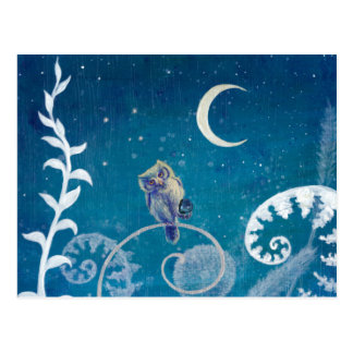 Little Amethyst Owl Postcard