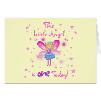 Little Angel 1st Birthday Tshirts and Gifts Cards