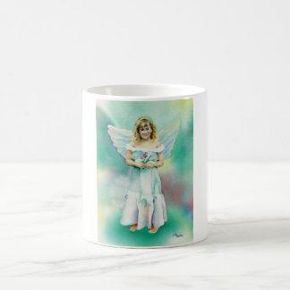 Little Angel Girl Watercolor Mug