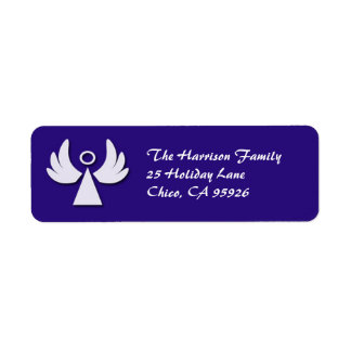Little Angel Holiday Return Address Label